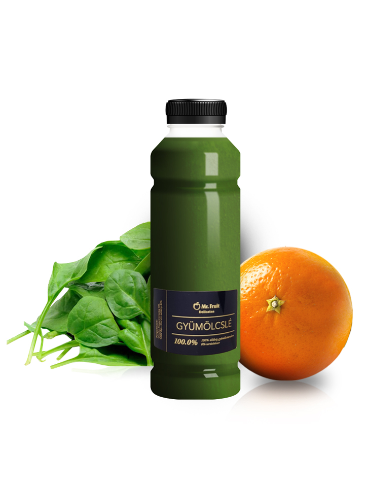 Narancs, spenót