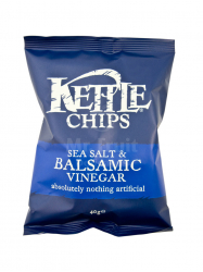 Kettle balzsamecetes-sós burgonyachips 40 gr