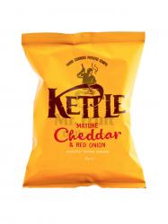 Kettle cheddar sajtos vöröshagymás chips 40 gr