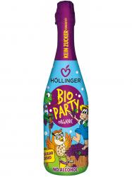 Höllinger BIO Party pezsgő piros szőlőlé 750 ml