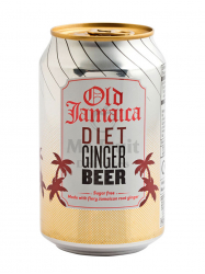 Old Jamaica diétás gyömbérsör 330 ml