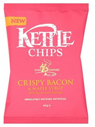 Kettle Bacon-juharszirupos chips 40 gr