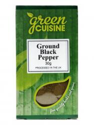 Green Cuisine Bors Fekete őrölt 30 gr