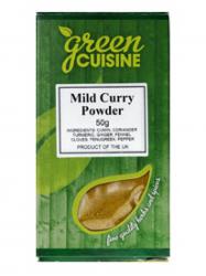 Green Cuisine Curry por enyhe 50 gr