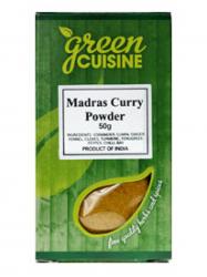 Green Cuisine Madras Curry 50 gr