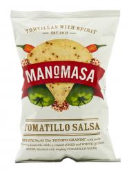 Manomasa Tomatillo Salsa chips 160 gr