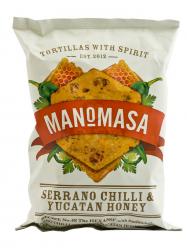 Manomasa Serrano chilis yucatan mézes tortilla 160 gr