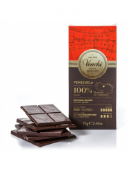 Venchi 100%-os venezuelai étcsokoládé 70 gr