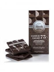 Venchi cukormentes étcsokoládé 75% 100 gr