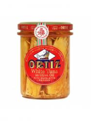 Ortiz fehér tonhal olívaolajban Esplette paprikával 220 gr