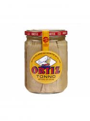 Ortiz Atun Claro tonhal olívaolajban üveges 220 gr