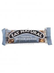 Eat natural gluténmentes proteinszelet mogyoró és csokoládé 45 gr
