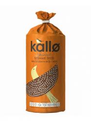 Kallo Bio puffasztott rizs szezámmaggal 130 gr