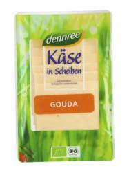 Dennree Bio Laktózmentes Gouda sajt 150 gr