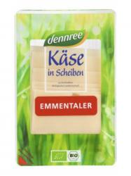 Dennree Bio Laktózmentes Ementáli szeletelt sajt 150 gr