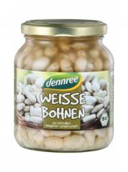 Dennree Bio Fehérbab üveges 350 gr