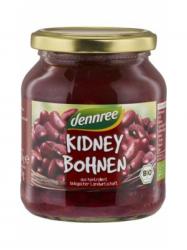 Dennree Bio Vörös vesebab üveges 350 gr