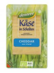 Dennree Bio Laktózmentes Szeletelt Cheddar 150 gr