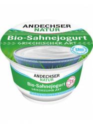 Andechser Bio Natúr tejszínes Görög joghurt 200 gr
