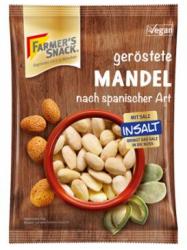 Farmer´s Spanyol Módon Pörkölt sós Mandula 100 gr