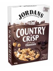 Jordans Crisp Csokoládés müzli 400 gr