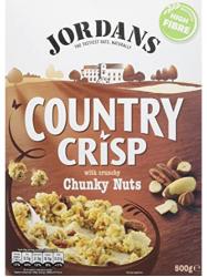 Jordans Crisp nuts müzli 400 gr