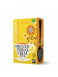 Clipper Bio Chai Fűszeres fekete tea 20 filter
