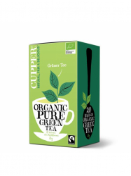 Cupper Bio Pur Green Tea 35 gr