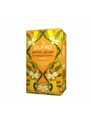 Pukka Bio Citrom gyömbér manuka méz tea 40 gr