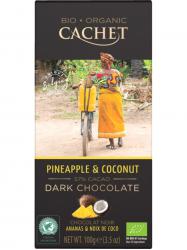 Cachet BIO Étcsoki kókusz & ananász 57% 100 gr