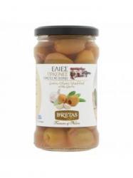 Bretas Zöld olívabogyó fokhagymával töltve 314 ml
