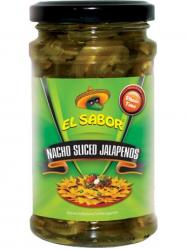 EL SABOR Jalapeno paprika szeletelt 220 gr