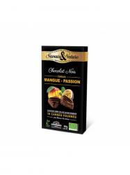 Saveurs&Nature Bio Étcsoki mango maracuja 70% bonbon 80 gr