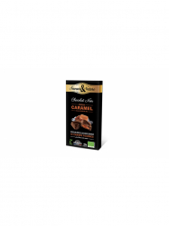 Saveurs&Nature Étcsokoládé 70% bonbon sós karamell 80 gr
