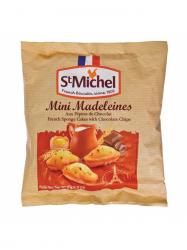 St Michel csokoládé darabos Madeleine sütemény 175 gr
