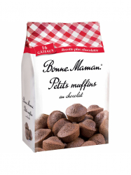 Bonne Maman csokoládés mini muffinok 235 gr