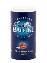 La Baleine finomszemű tengeri só jóddal 500 gr