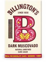 Billington Muscovado Dark cukor 500 gr