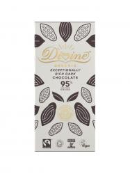 Divine BIO Étcsokoládé 95%-os 80 gr