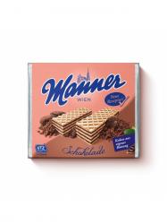 Manner Csokoládékrémmel töltött ostya 75 gr