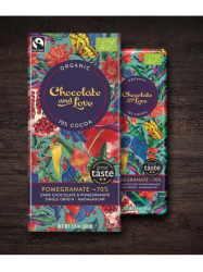 Chocolate and Love 70% gránátalmlás étcsoki 80 gr