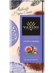 Vanini Étcsokoládé fügével és mandulával 100 gr
