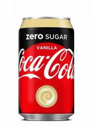 Coca Cola Zero Vanília 330 ml
